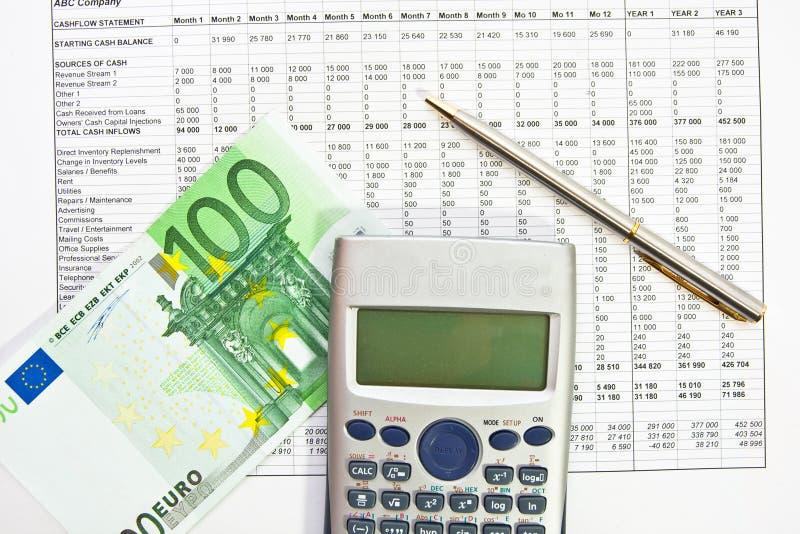 Données d'analyse de finances photos libres de droits