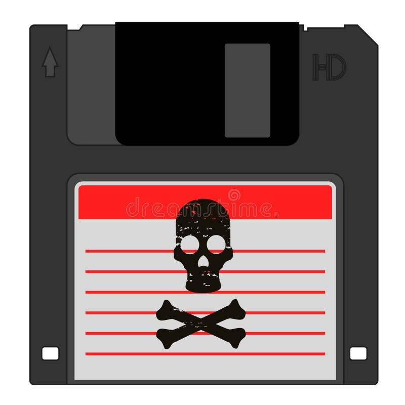 Données de pirate illustration libre de droits
