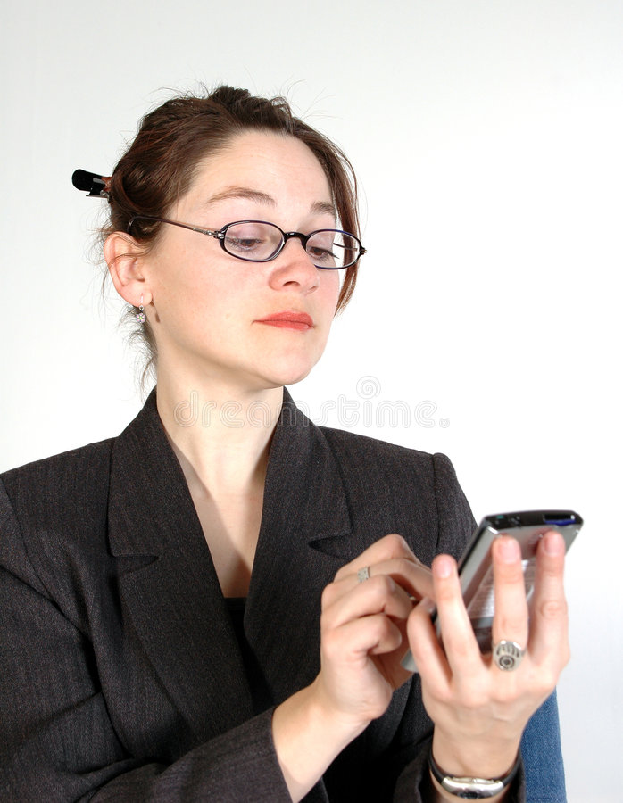 Donna 11 di affari immagini stock libere da diritti