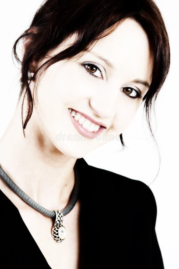 Download Donna 3 di affari fotografia stock. Immagine di denti, bianco - 213716