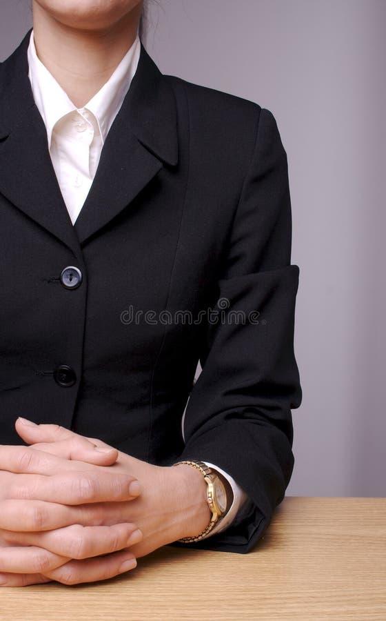 Donna 3 di affari fotografie stock libere da diritti