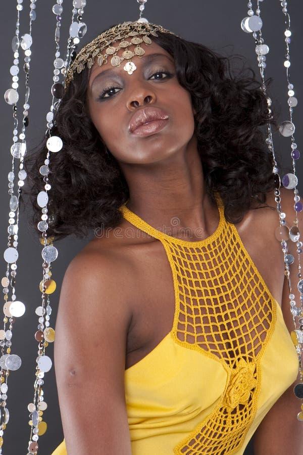 Donna africana immagine stock