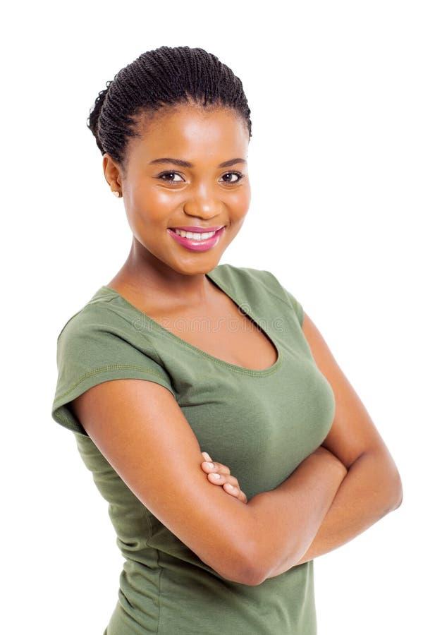 Donna africana moderna immagine stock libera da diritti