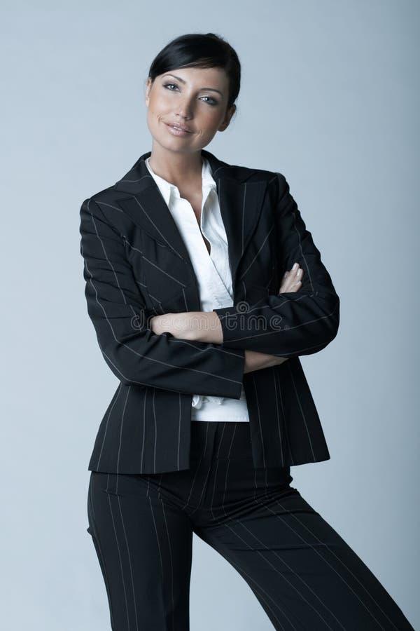 Donna AG di affari fotografie stock