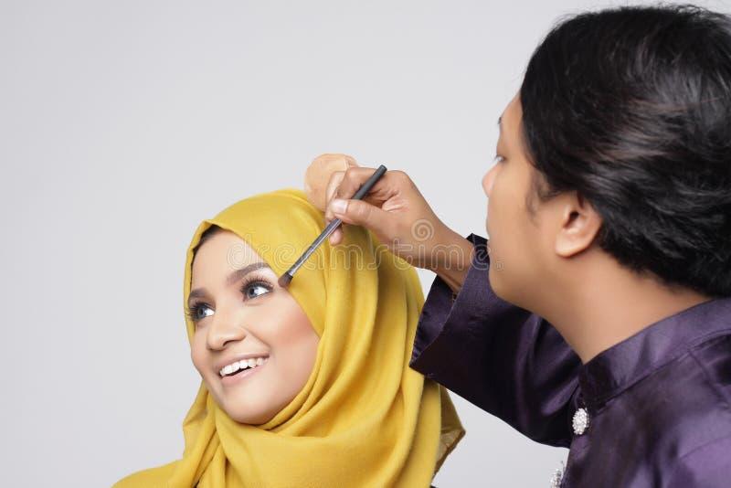 Donna alla moda del muslimah fotografia stock libera da diritti