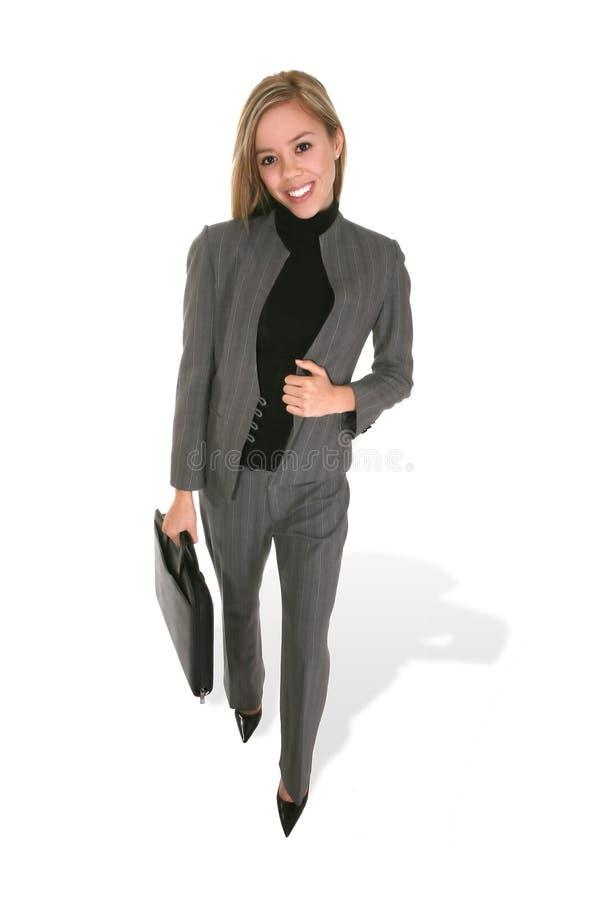 Donna alla moda di affari fotografie stock
