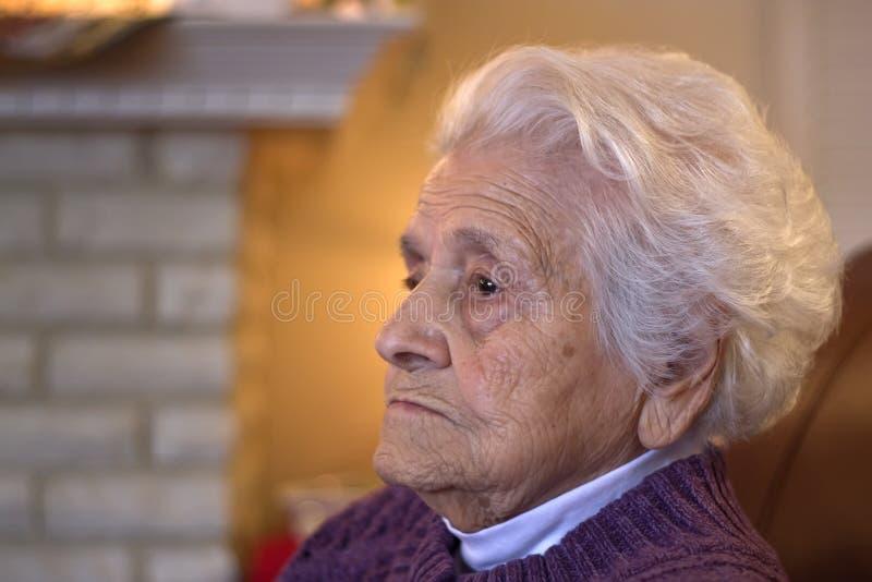 Donna anziana fotografia stock libera da diritti