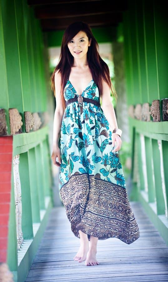 Donna asiatica fotografia stock libera da diritti