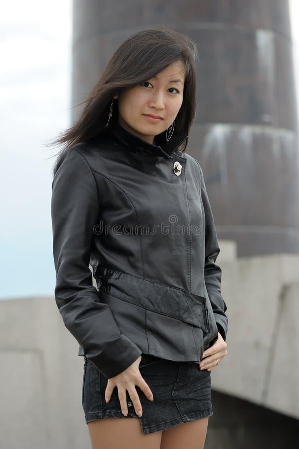 Donna asiatica fotografie stock libere da diritti