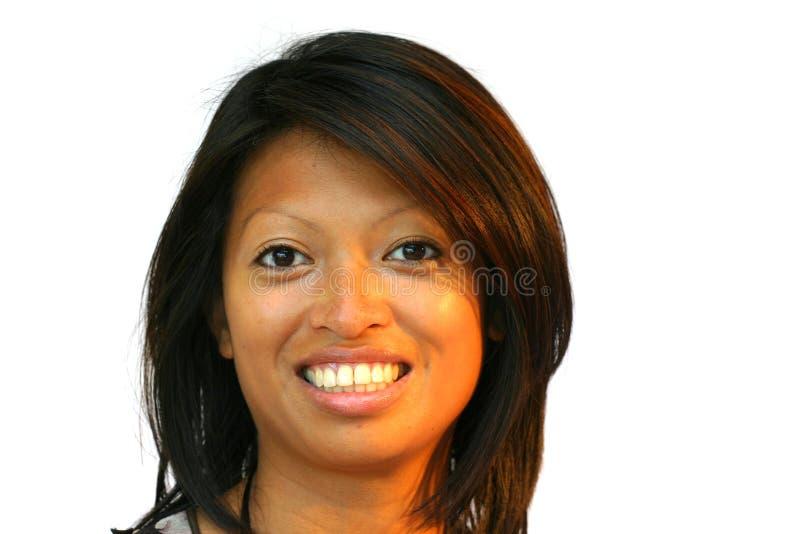 Donna asiatica attraente fotografie stock