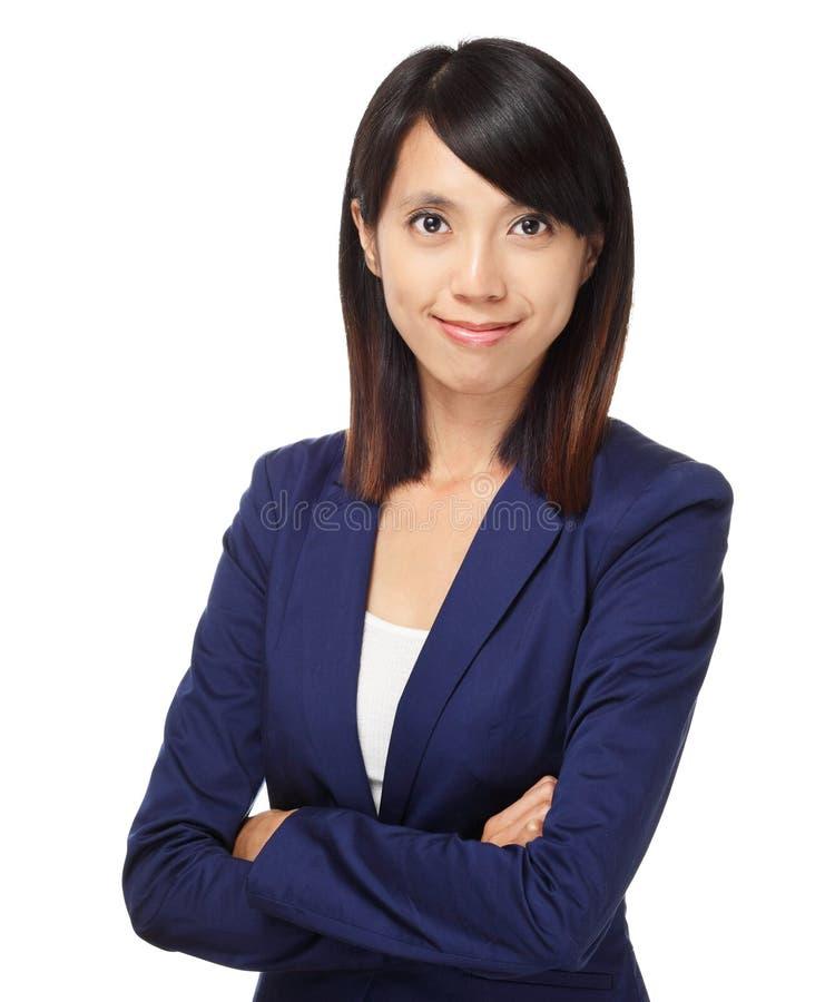 Donna asiatica di affari immagine stock libera da diritti