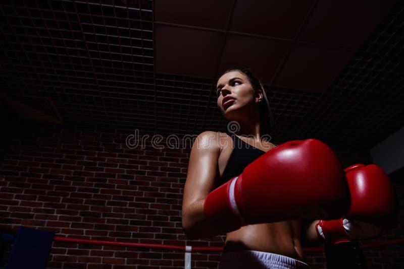 Donna attiva fotografia stock libera da diritti