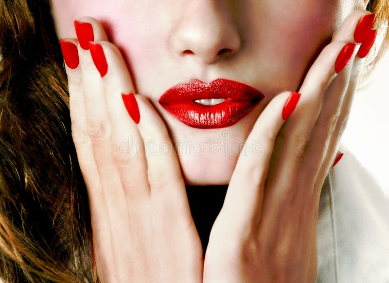 Download Donna attraente fotografia stock. Immagine di festa, svago - 7303928