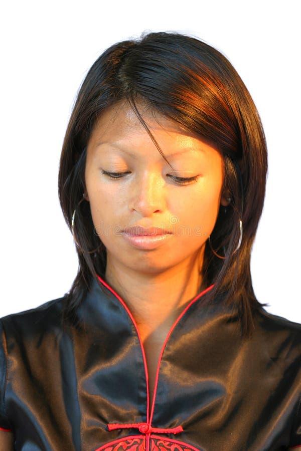 Donna attraente del philipinne fotografie stock