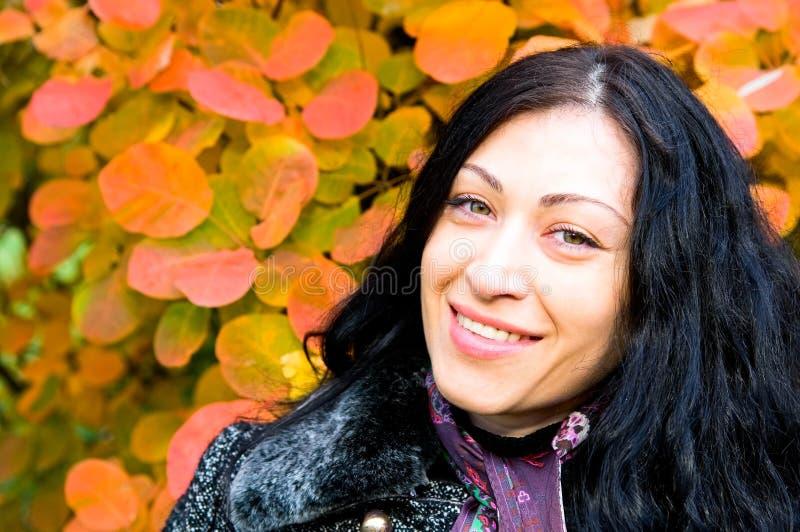 Donna caucasica matura immagine stock