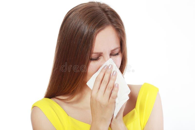 Download Donna Che Salta Il Suo Radiatore Anteriore Immagine Stock - Immagine di nose, adulto: 55351919