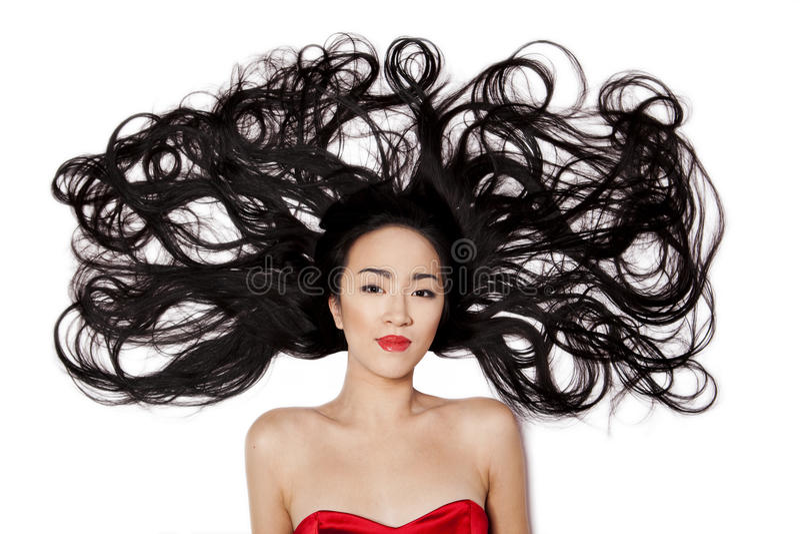 Donna cinese fotografia stock libera da diritti