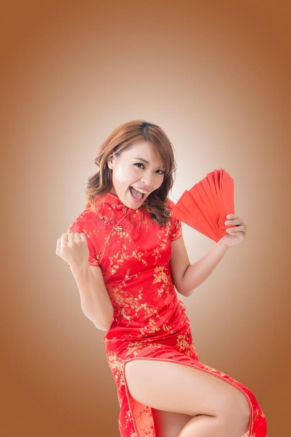 Donna cinese immagine stock