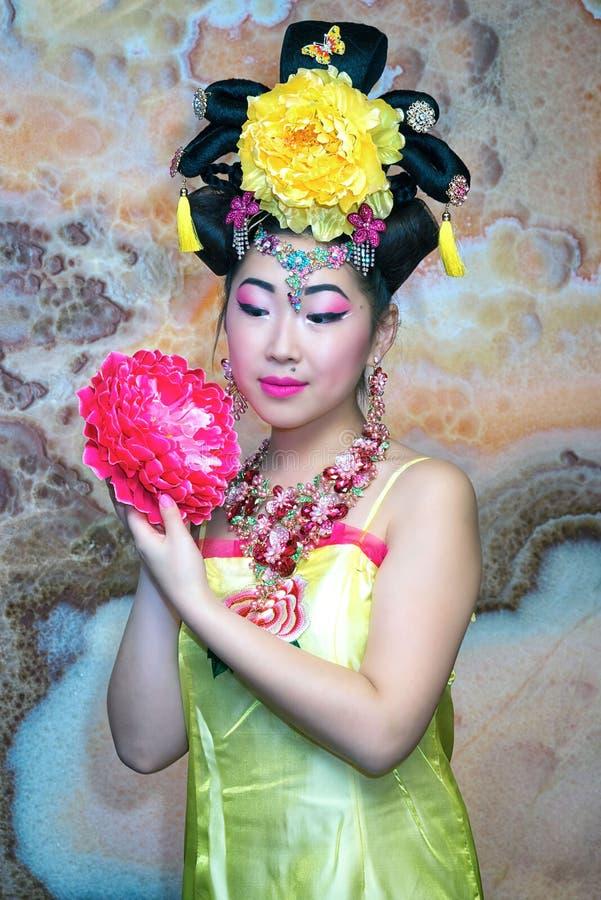 Donna cinese fotografia stock