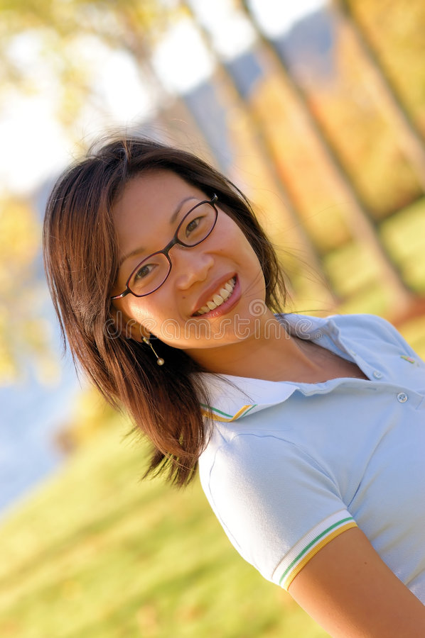 Donna cinese no.2 immagini stock