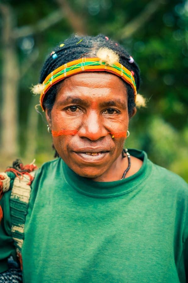 Donna con colore fotografia stock