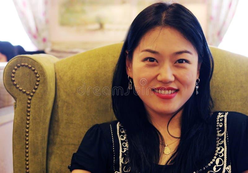 Donna coreana fotografie stock