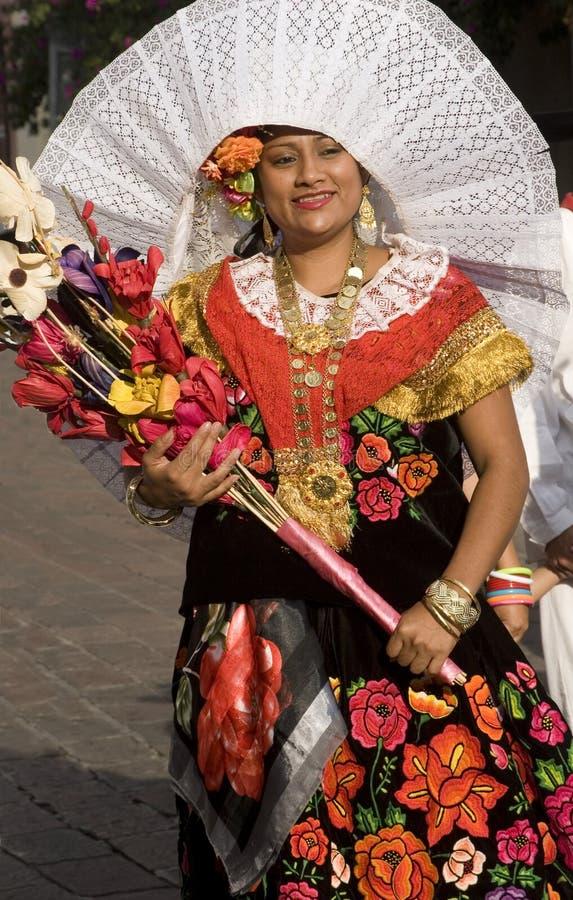 Donna da Oaxaca immagine stock