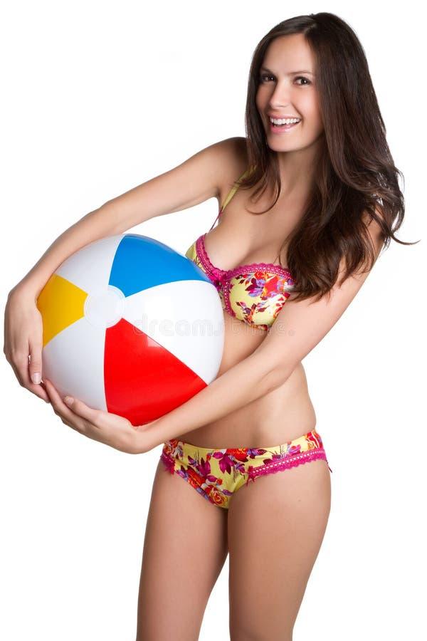 Donna del bikini immagine stock