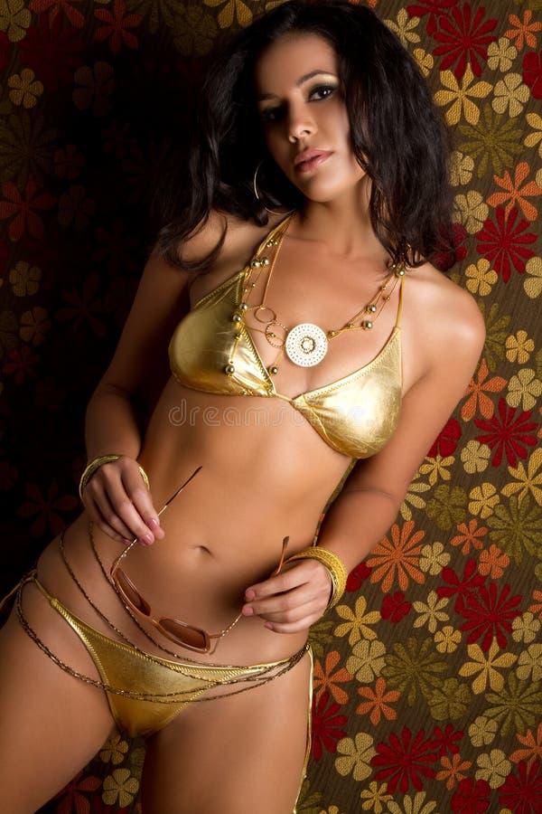Donna del bikini immagine stock libera da diritti