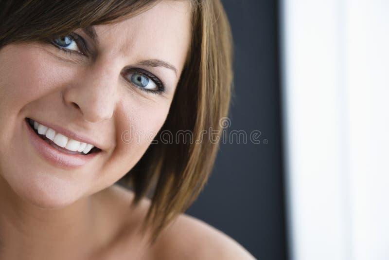 Donna del Brunette. immagini stock libere da diritti