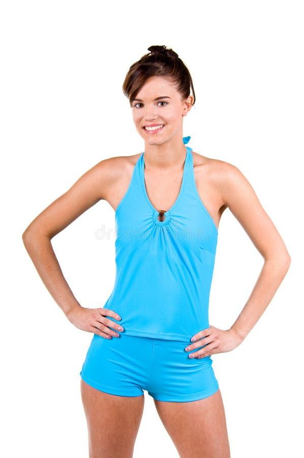 Download Donna Del Brunette In Un Bikini Fotografia Stock - Immagine di adulto, donna: 7308018