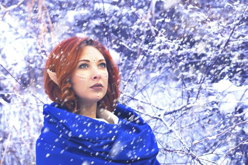 Donna del fatato di Elf fotografia stock libera da diritti
