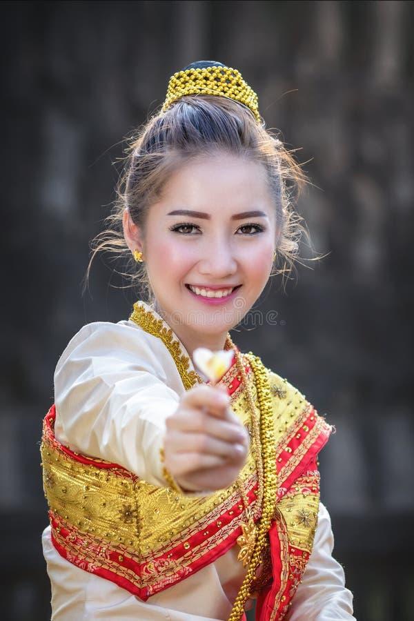 Donna del Laos fotografie stock libere da diritti