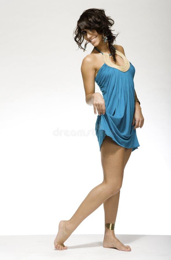 Donna del Latino fotografia stock