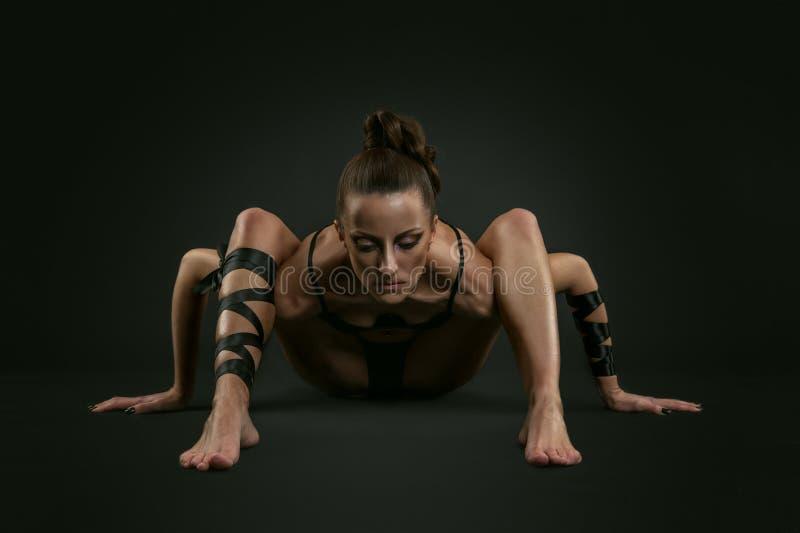 Donna del ragno fotografia stock