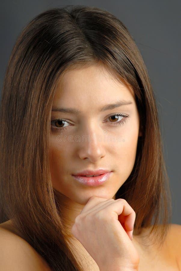 Donna del ritratto fotografie stock libere da diritti
