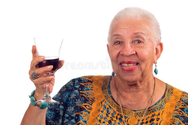 Donna dell'afroamericano immagine stock