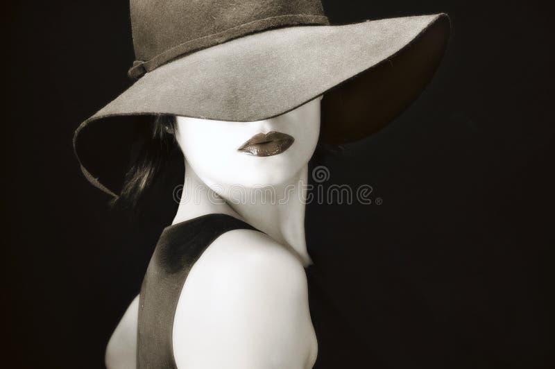 Donna dell'annata fotografie stock libere da diritti