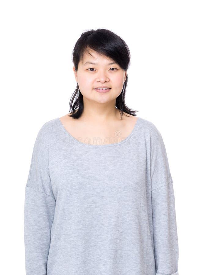 Donna dell'Asia fotografia stock