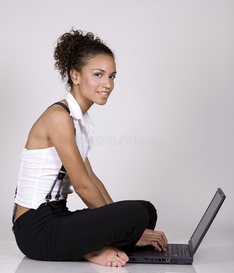 Donna dell'ufficio fotografia stock libera da diritti
