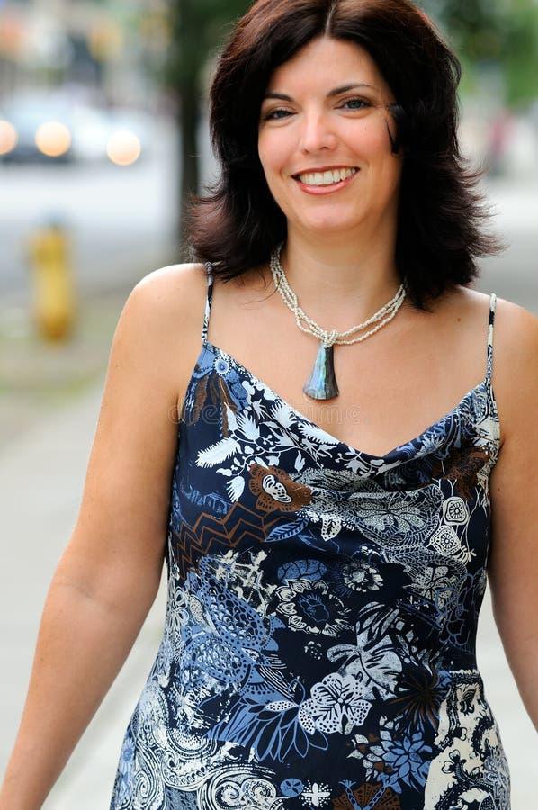 donna della città fotografie stock libere da diritti