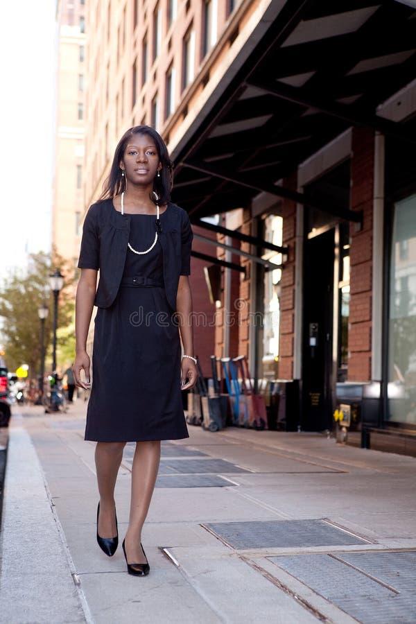 donna della via di affari fotografia stock libera da diritti