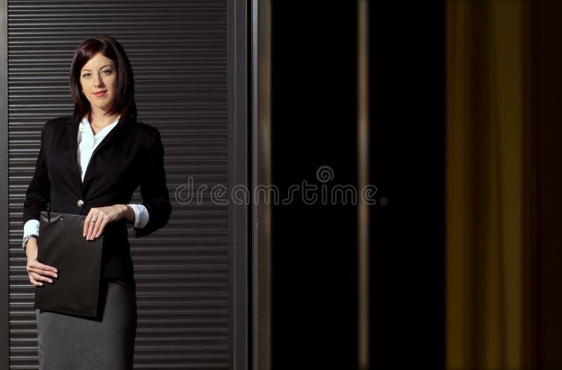 Donna di affari fotografia stock