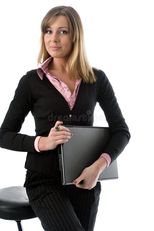 Donna di affari immagine stock