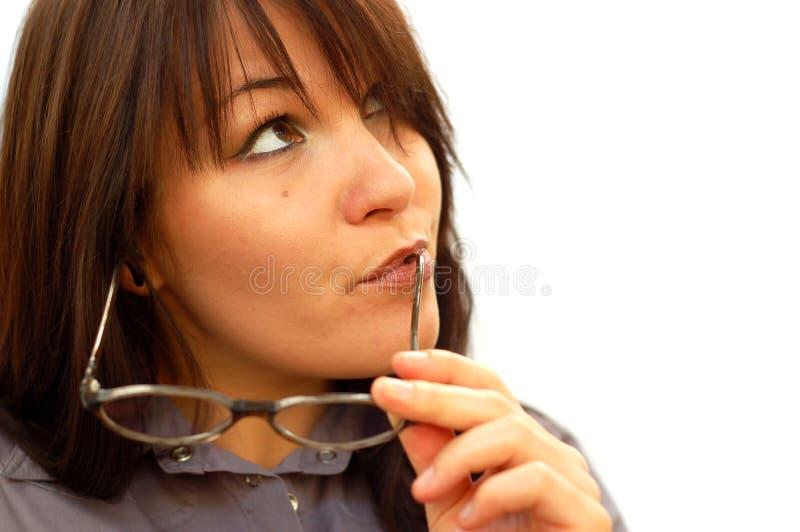 Donna di affari #3 fotografie stock libere da diritti