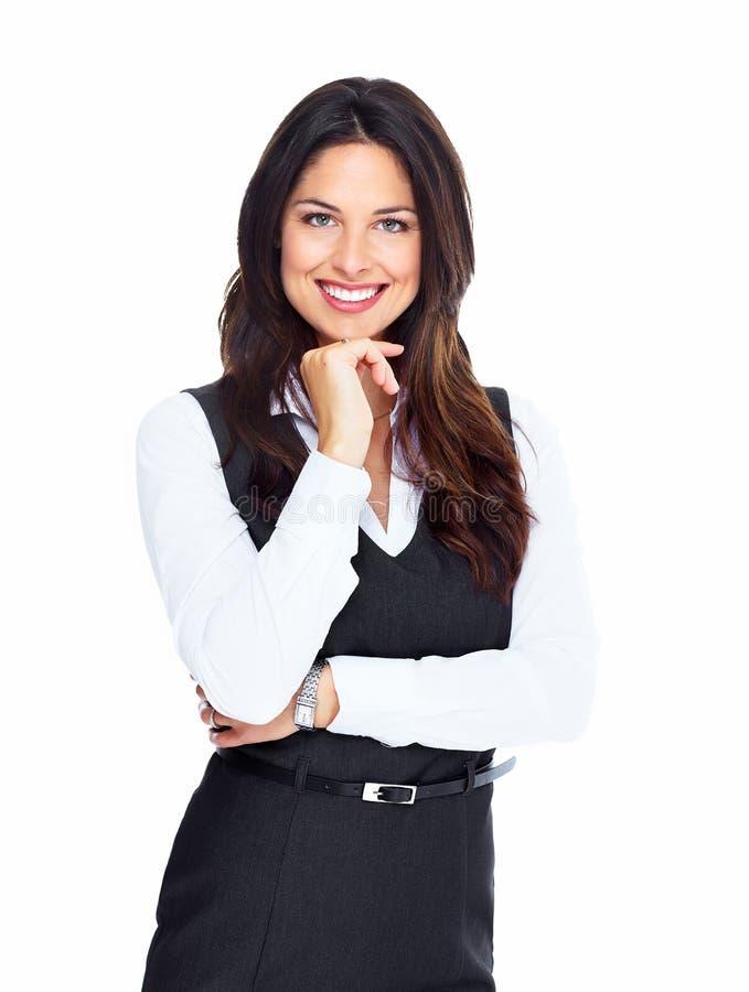 Donna di affari. fotografia stock libera da diritti