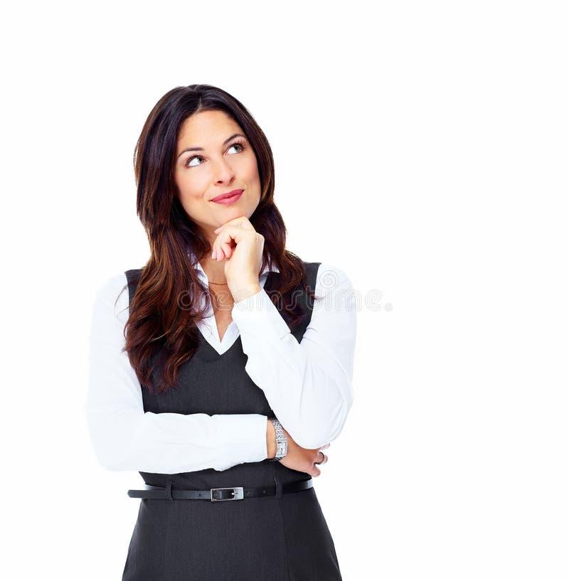 Donna di affari. fotografie stock libere da diritti