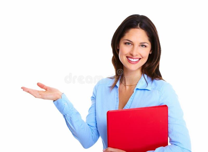 Donna di affari. immagini stock