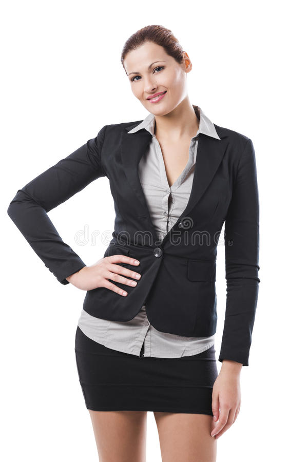 Donna di affari - 2 immagine stock libera da diritti