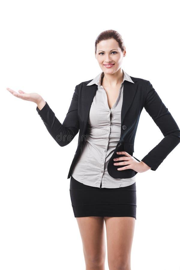 Donna di affari - 2 fotografia stock libera da diritti